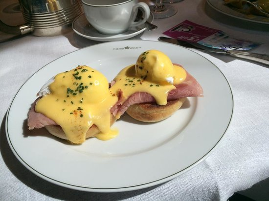 The Delaunay: Eggs Benedict - large portion