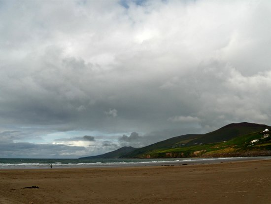 Inch Beach: Spiaggia e nuvolette