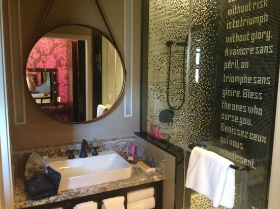 Generous Light Grey Tile Bathroom Floor Tall Bath Decoration Solid Gray Bathroom Vanity Lowes Lowes Bathroom Vanity Tops Young Bathroom Wall Panelling GrayBathrooms Designs Pinterest Bathroom View  Shower And Vanity   Picture Of The Cromwell, Las ..