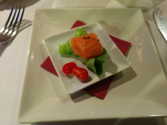 L'arrosseria del Port: Degustación salmón