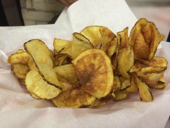 Pizza on 87: Handmade Chips