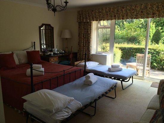 Best Western Dorset Oborne the Grange Hotel: our bedroom, room 10