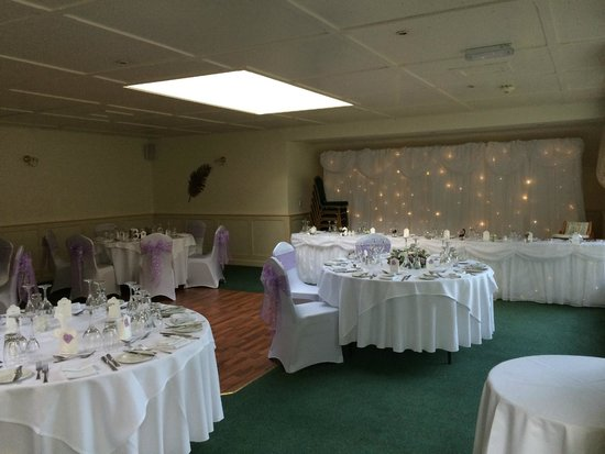 Best Western Dorset Oborne the Grange Hotel: The wedding room