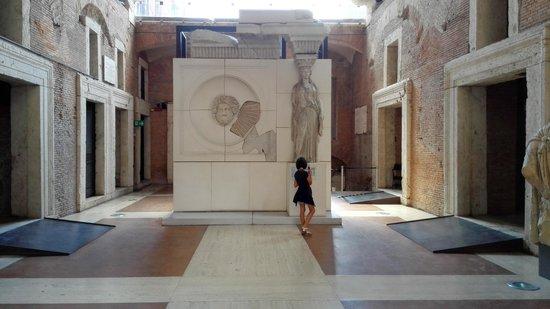 Mercati di Traiano - Museo dei Fori Imperiali : Interno grande aula