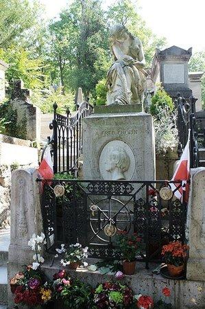 Cimetière du Père-Lachaise : Túmulo de Chopin