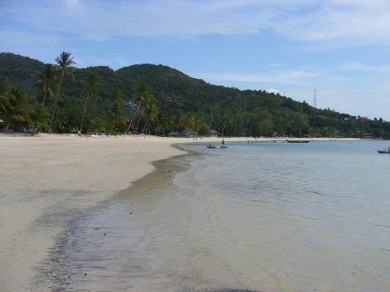 Haad Yao Beach: kijkje in zuidelijke richting