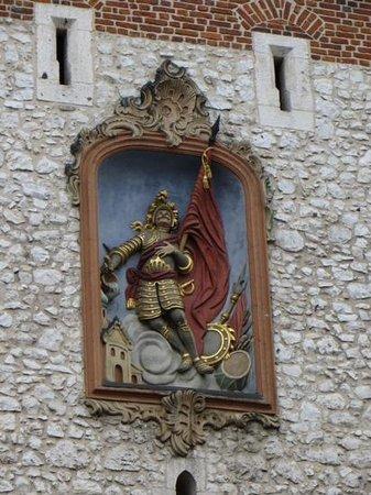 St. Florian's Gate (Brama Florianska) : St. Florian-detail