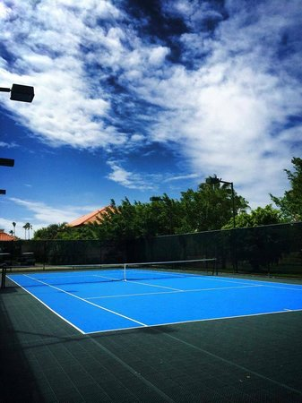 Gran Melia Golf Resort Puerto Rico : they have 3 tennis courts