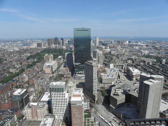 Hotel 140: View to the east from Prudential Center/Skywalk Observatory