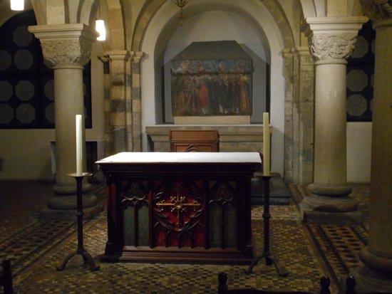 Basilica of St. Servatius: The oldest altar in the Netherlands.