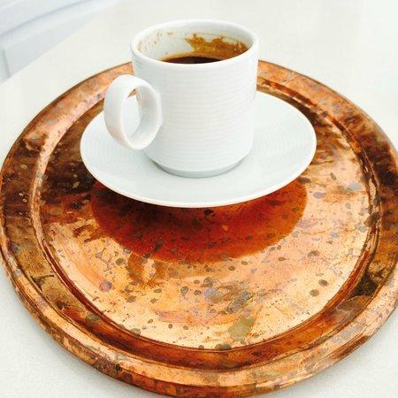 Iconic Santorini, a boutique cave hotel: caffe greco