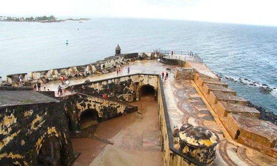 Castillo de San Cristobal: view