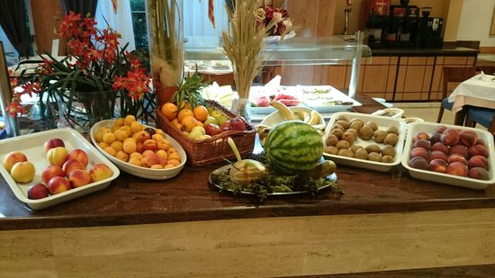 Hotel THB Gran Playa: Zona das frutas no refeitório