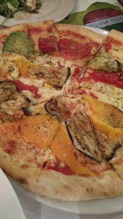 Ristorante Pizzeria Da Salvi: Vega pizza .more than dream of