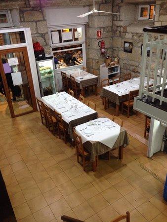 O Portón: Dentro do restaurante