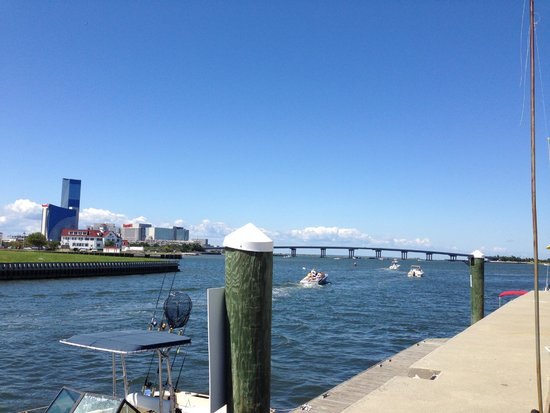 Scales Grill & Deck Bar: View of Absecon Inlet