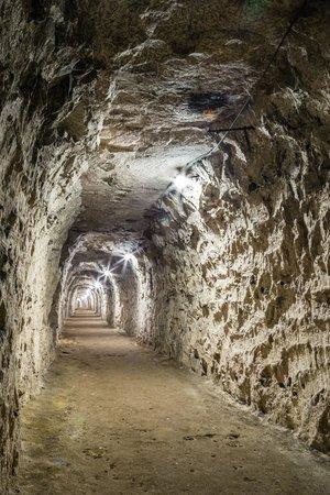 Ramsgate Tunnels: Lit section of Air Raid Precaution tunnels