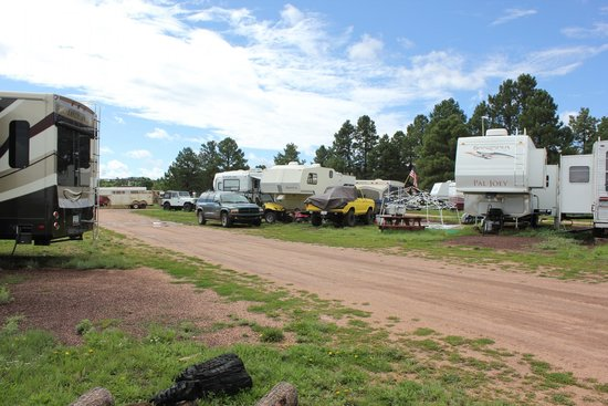 Mormon Lake Lodge and Campground : ATV's everywhere