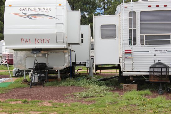 Mormon Lake Lodge and Campground : sites too close together for my liking