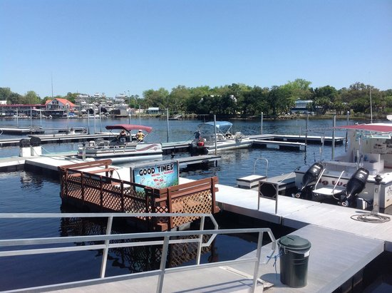 Good Times Motel and Marina: Our docks