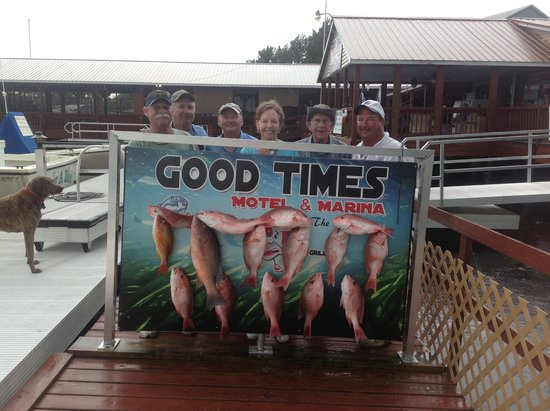 A good day of fishing picture of good times motel and for Good fishing times