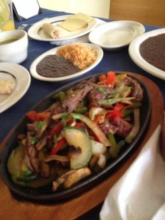 Gaby's: steak fajita. done to perfection.