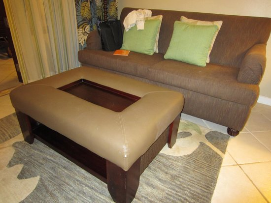 Beaches Ocho Rios Resort & Golf Club : Dated furniture
