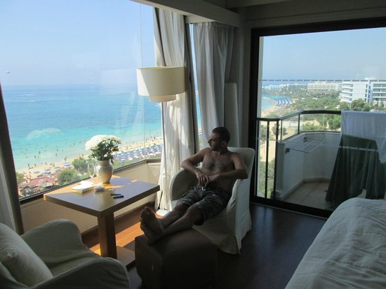 Alion Beach Hotel: the panoramic view room