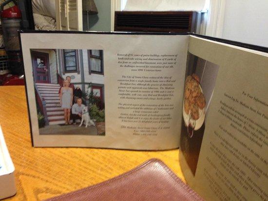 about Madison Street Inn