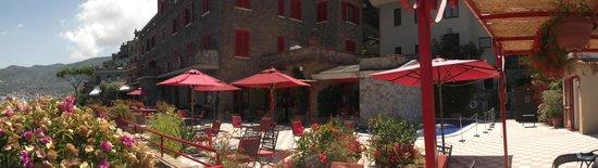 Minerva Hotel: Hotel Terrace