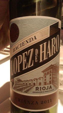 La Salvaora: vin rouge délicieux