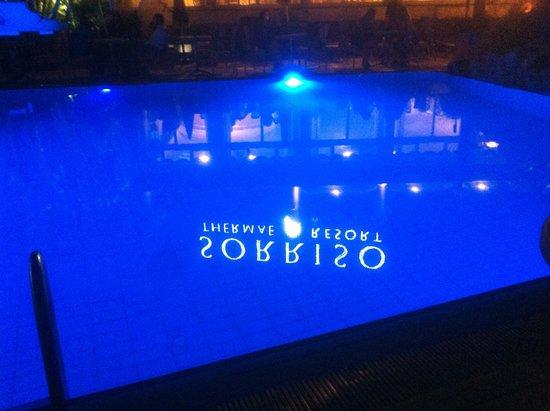 Sorriso Thermae Resort & Spa: la piscina esterna
