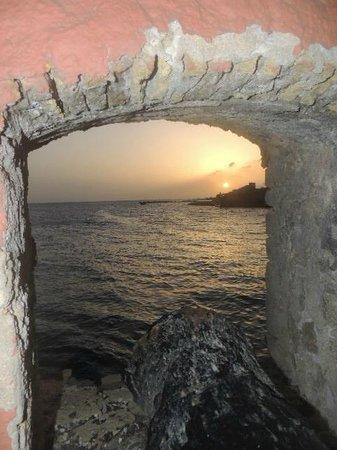 Plaza Hotel Curacao: Por do sol