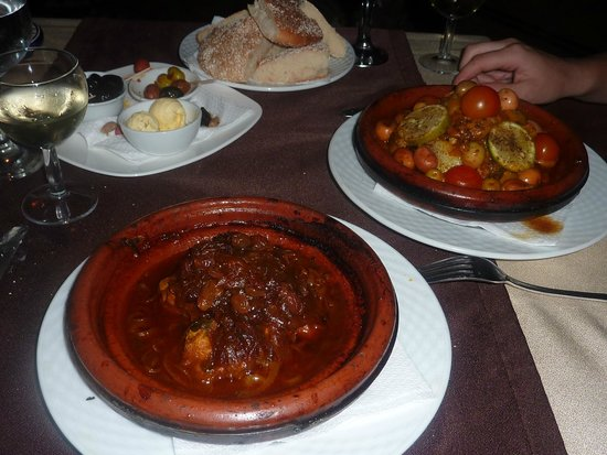 Palais des Remparts : Eel tagine on the first night.Delicious!