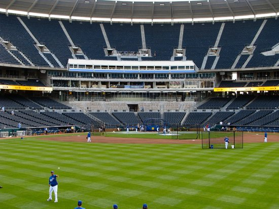 Kauffman Stadium : View from center field