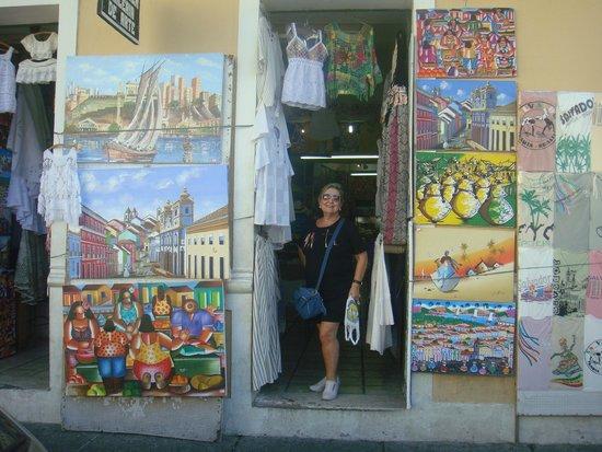 Pelourinho : arte local