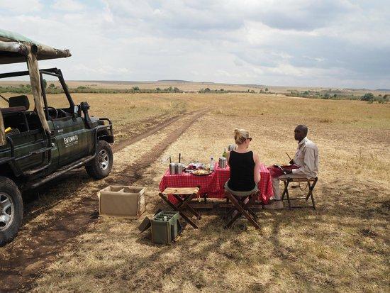 Entumoto Safari Camp : Lunsj i Masai Mara
