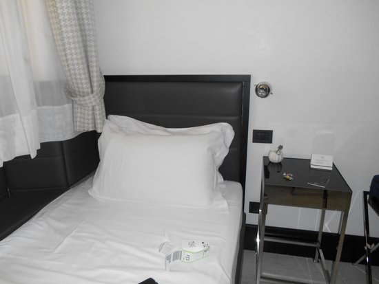 Hotel Siena: Single room 103 -  with comfy bed