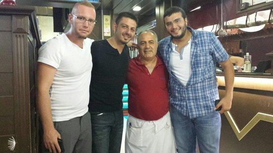 Ravza Restaurant: Ali lord ,hamdi cukur, resat sarp