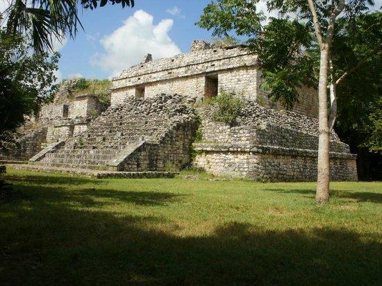 Ek Balam Mayan Ruins: Ruins.