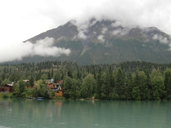Kenai River Drifter's Lodge: View from campfire area