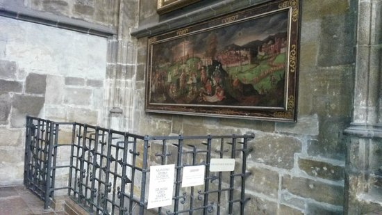 Catedral de San Vito: Painting in the St. Vitus Cathedral