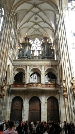 Catedral de San Vito: Organ in the St. Vitus Cathedral