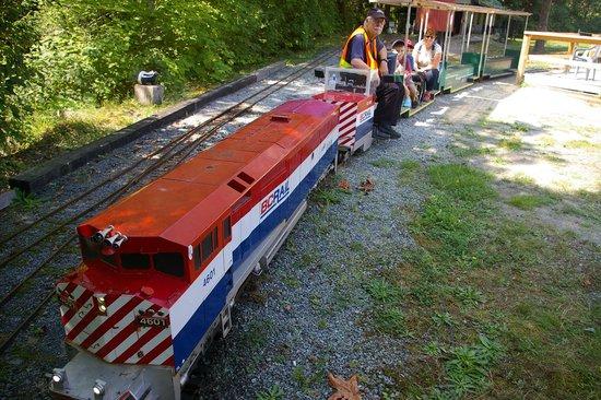 West Coast Railway Heritage Park : kids railway