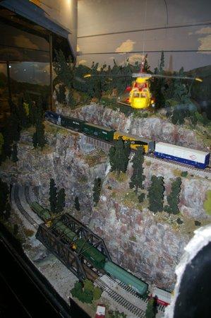 West Coast Railway Heritage Park: model railway