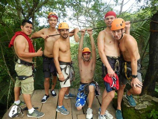 GO GAY! Jungle Adventure : =9  Canopy fun time