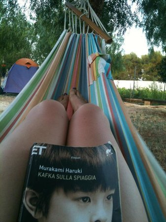 Camping Lilybeo Village: Relax sull'amaca!