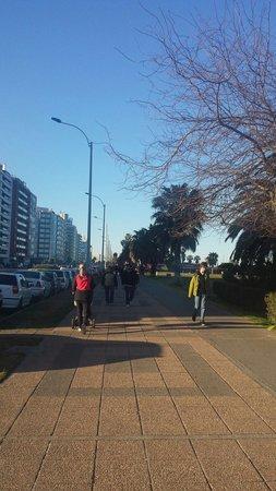 Rambla von Montevideo: Rambla de Montevideu.