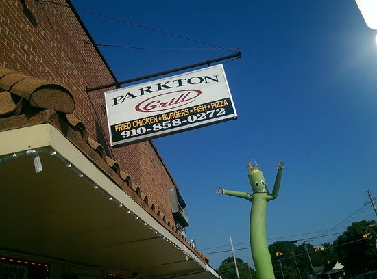 The Parkton Grill  full of small town charm, friendly people and great food