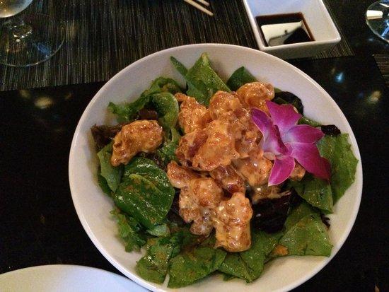 O-Ku: Rock Shrimp Salad